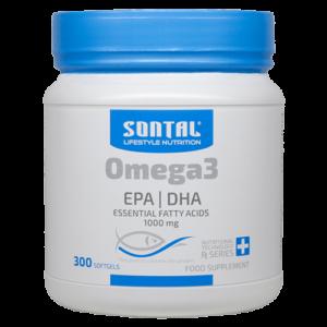 SONTAL Omega 3 – 300 Softgel Capsules