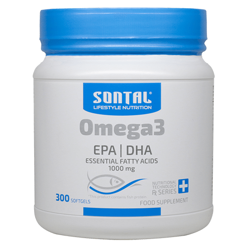 SONTAL Omega 3 – 300 Softgel Capsules