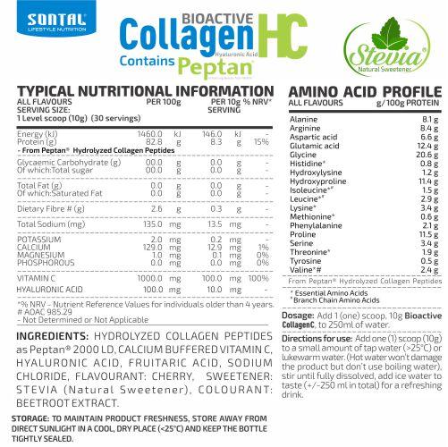 SONTAL-CollagenHC Cherry -300g- BCK NEW2017