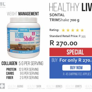 SONTAL TrimShake – Diet Shake CHOCOLATE 700g SPECIAL